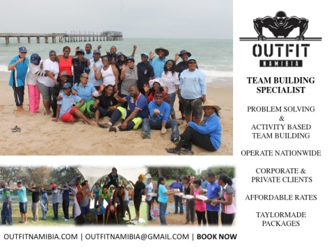 OUTFIT NAMIBIA TEAM BUILDING