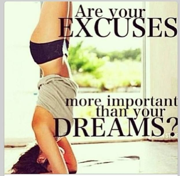 Fitness Motivation: Be stronger than your excuses